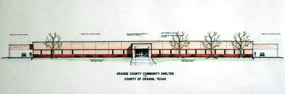 Artist rendering of Orange County's 'shelter of last resort.'