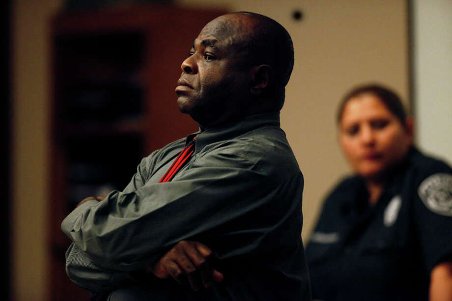 Marcelleus J. Anunobi at the 227th district courtroom in San Antonio on July 21, 2010. Photo: LISA KRANTZ / lkrantz@express-news.net