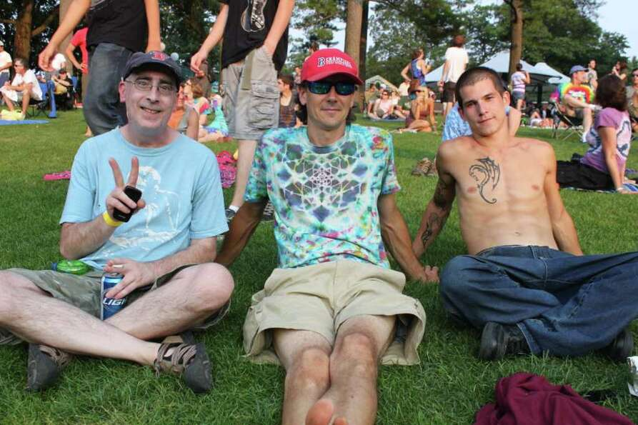 Were you seen at Furthur at SPAC?