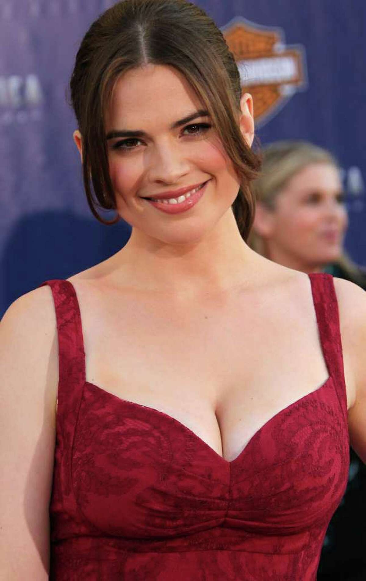 HOLLYWOOD, CA - JULY 19: Actress Hayley Atwell attends the