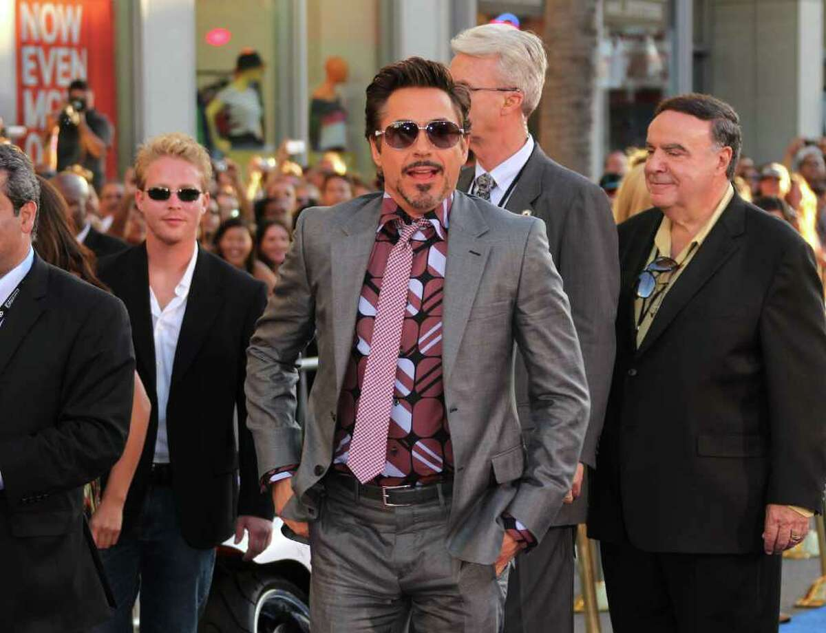 HOLLYWOOD, CA - JULY 19: Actor Robert Downey Jr., attends the