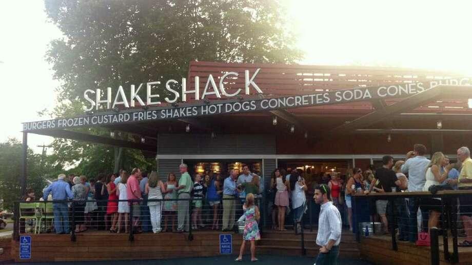 Shake Shack is seen at 1849 Post Road East in Westport, Conn. Photo: Brett Mickelson