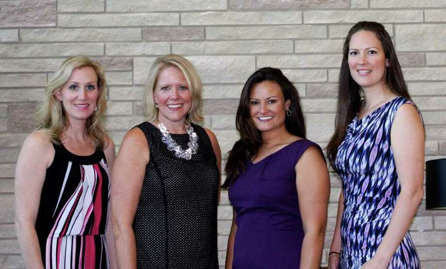 Chairs of the 2012 Charity Ball are already hard at work on plans for the event.  From left are Mandy Boudreaux, Debbie Bucker, Audra O'Neal and Jessica DeMarr. Photo: None
