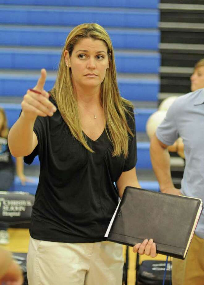 Clear Springs head volleyball coach Rhonda Ellison. Photo: L. SCOTT HAINLINE