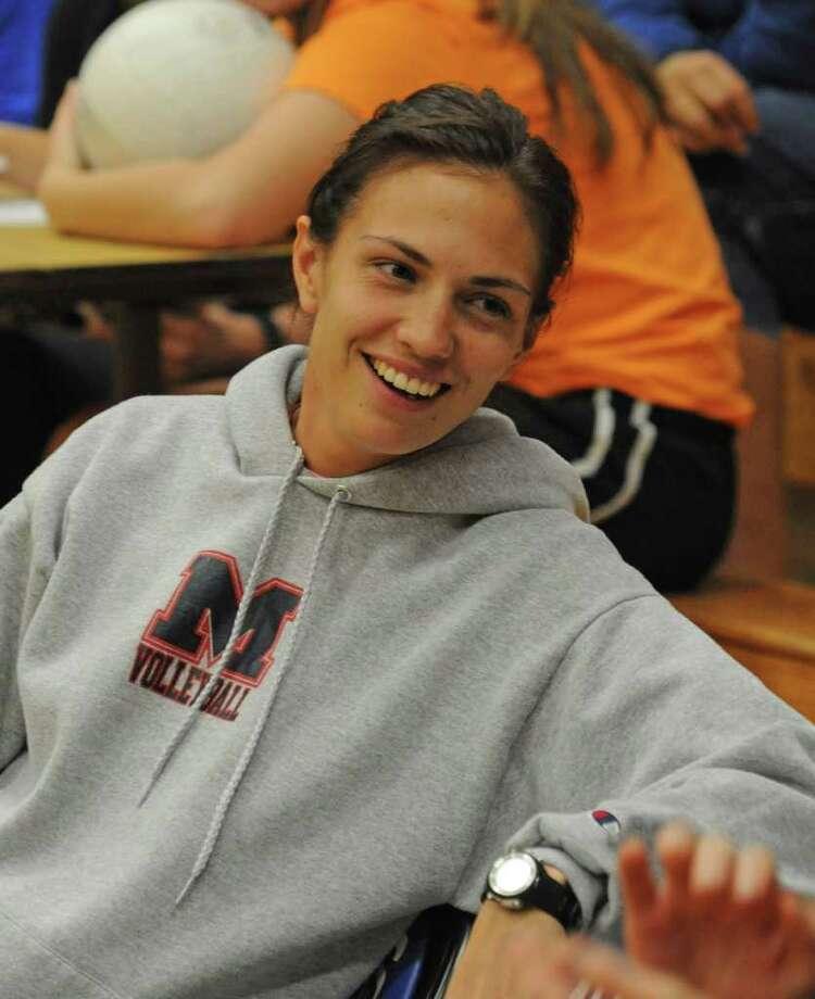 Manvel head volleyball coach Rheanna Stahl Photo: L. SCOTT HAINLINE