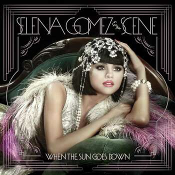 "In this CD cover image released by Hollywood Records, the latest release by Selena Gomez & the Scene, ""When the Sun Goes Down,"" is shown. Photo: AP Photo/Hollywood Records"