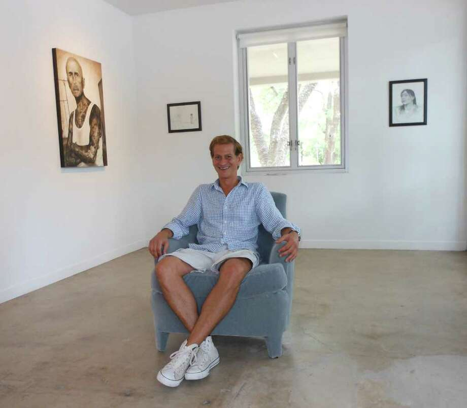 David Shelton has moved David Shelton Gallery from Stone Oak to St. Benedict's in King William.
