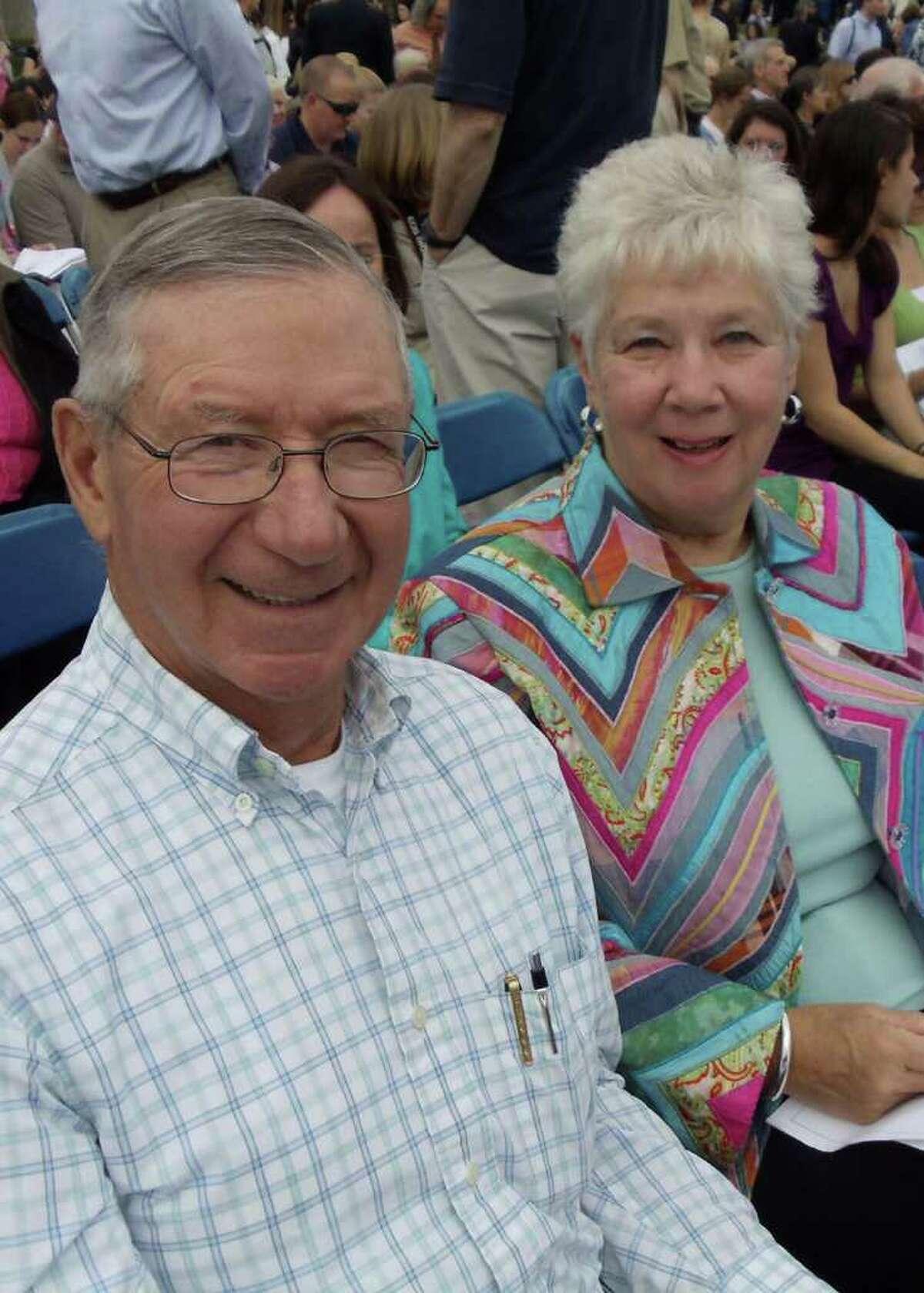 Richard and Carol Steiner, 50th anniversary