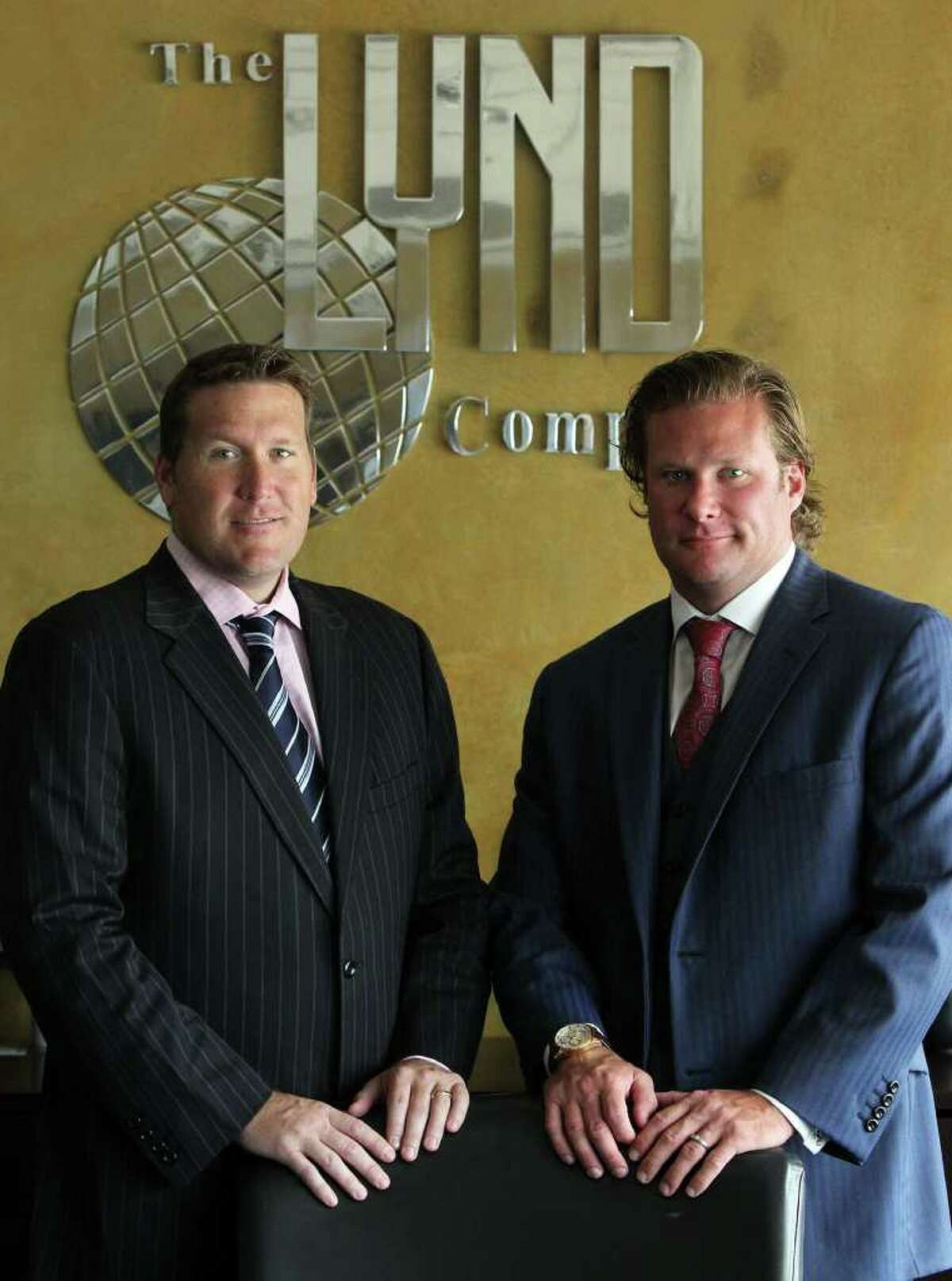 Mike Lynd (left) and David Lynd run Lynd, a company started by their father. The company now works across the country in property development and acquisition.