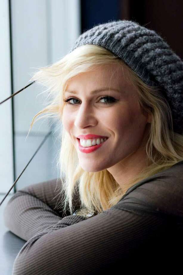 Singer Natasha Bedingfield poses for a Chronicle portrait after a voice lesson with voice coach Dave Stroud and Starwood auction winners at the House of Blues on Thursday afternoon, July 7, 2011 in Houston. ( Patrick T. Fallon / Houston Chronicle ) Photo: Patrick T Fallon, Intern / © 2011 Houston Chronicle