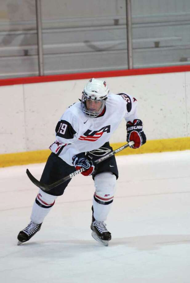 Stamford's Ryan Haggerty is playing for U-17 USA Hockey National Development team. Photo: Contributed Photo, ST / Connecticut Post