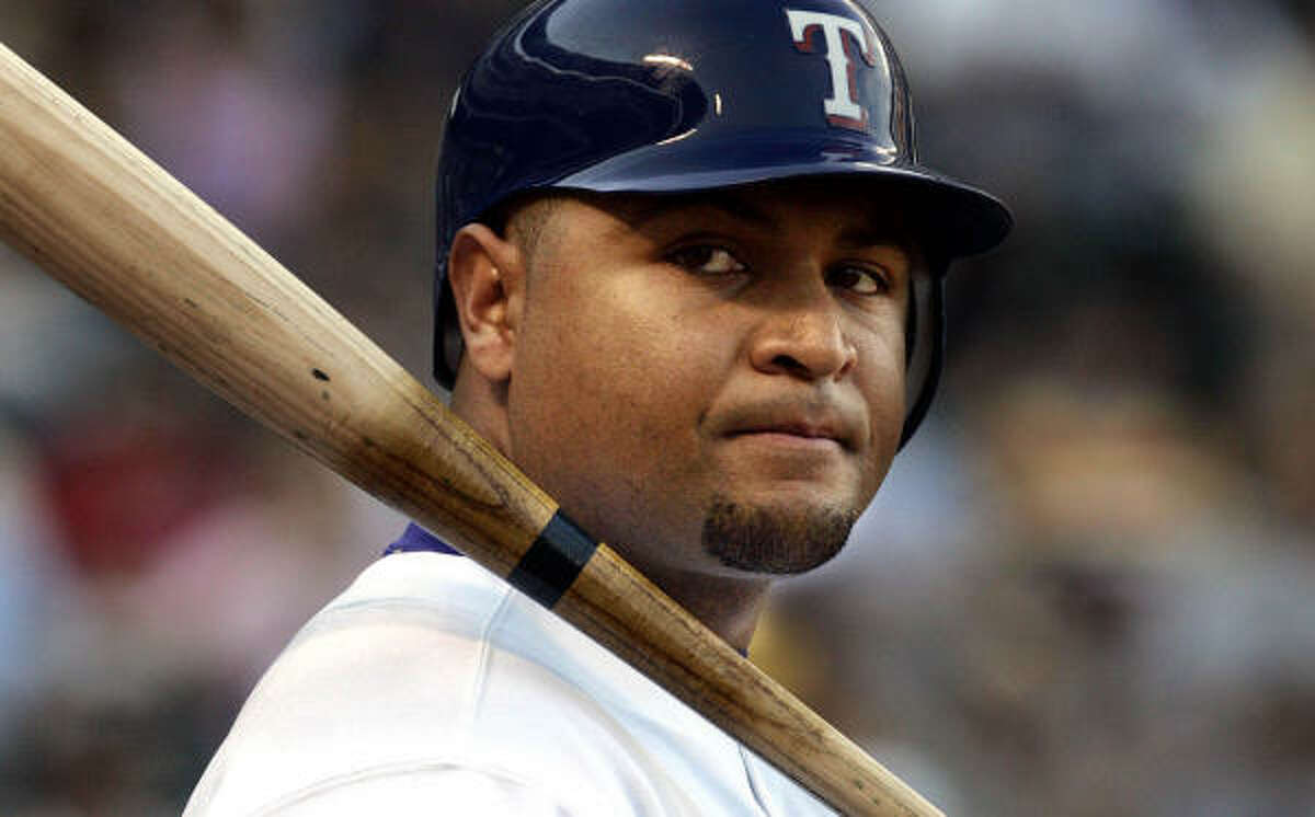 Carlos Lee hit .300 with 37 homers and 116 RBIs last season for the Milwaukee Brewers and Texas Rangers.
