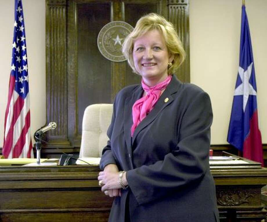 Bexar County District Attorney Susan Reed in 2000. Photo: CHRONICLE FILE