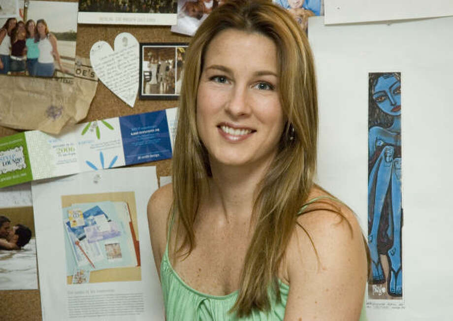 Jill Graff's stationery products are offered by retailers in 24 states and in Brussels, Belgium and Toronto. Photo: Debbie Medrano, For The Chronicle