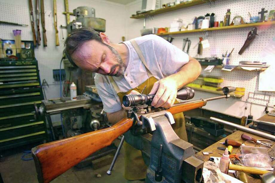 Southeast Texan targets his craft as a gunsmith - Beaumont Enterprise