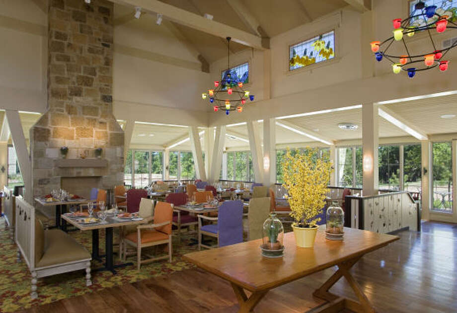 One of Lost Pines' dining options: Firewheel Café. Photo: Hyatt Regency