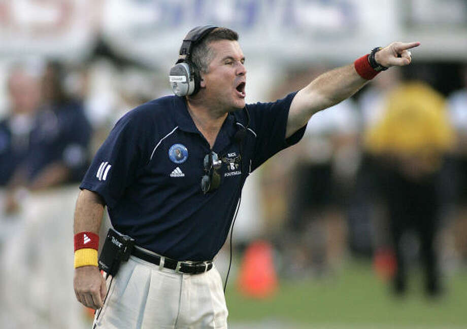 Rice coach Todd Graham is a candidate for a national award. Photo: REINHOLD MATAY, AP