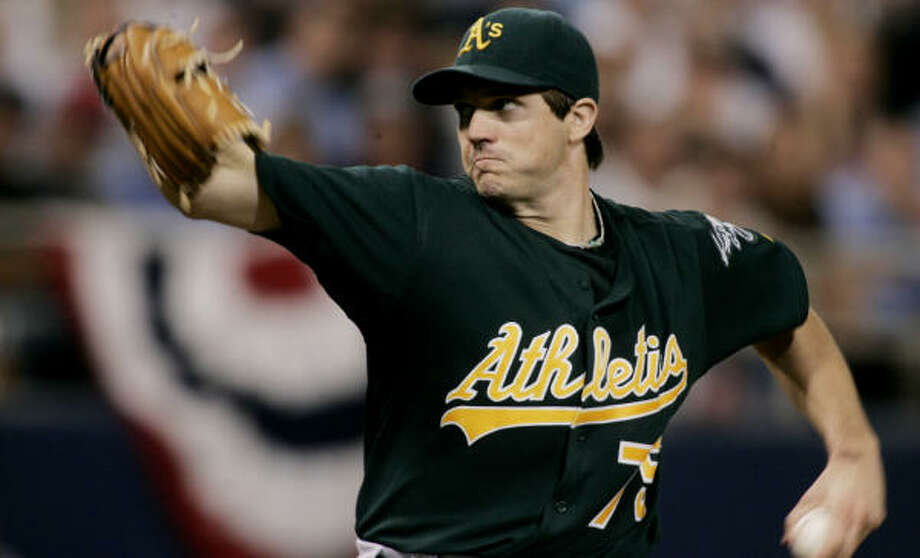 Got $90 million burning a hole in your pocket? Then you're able to ante up for the Barry Zito sweepstakes. Though the Astros are looking for front-line pitching help, they aren't expected to be players in the pricey race to land the free-agent lefty. Photo: JIM MONE, AP