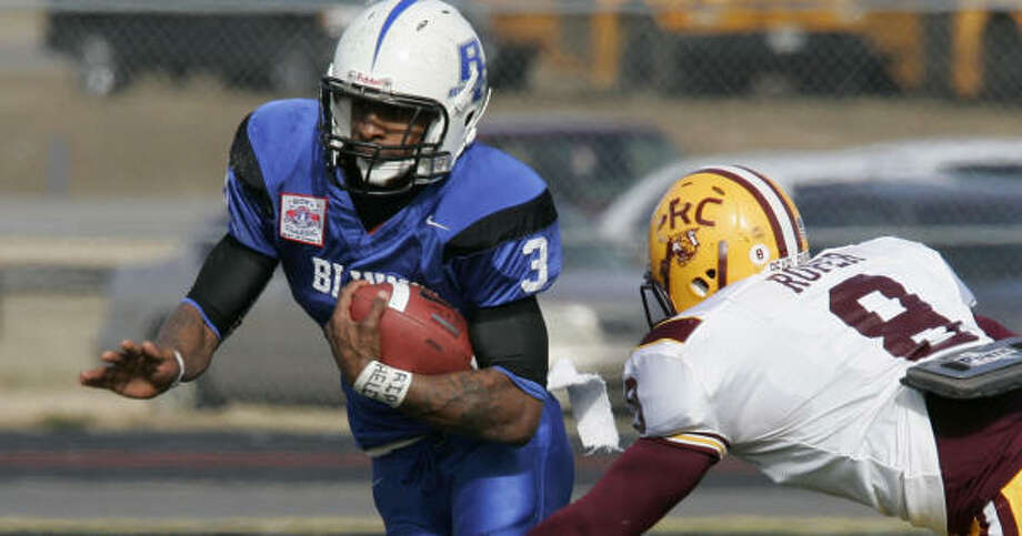 Bernard Scott and the Blinn Buccaneers captured the JUCO national title. Photo: Tim Sharp, AP