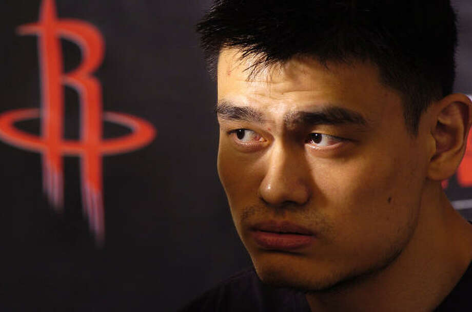 Name: Yao Ming Position: Center  Ideally: Becomes the NBA's best center. Yeah, but: Can he stay healthy and effective through a full season and the playoffs? Photo: DAVE ROSSMAN, CHRONICLE FILE PHOTO