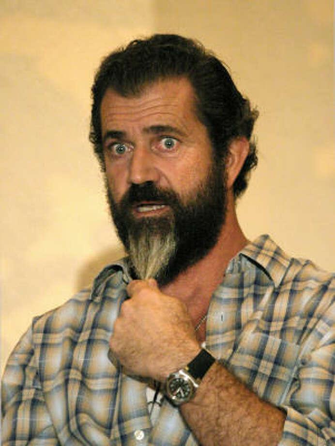 Mel Gibson Photo: DAVID HERNANDEZ, Associated Press