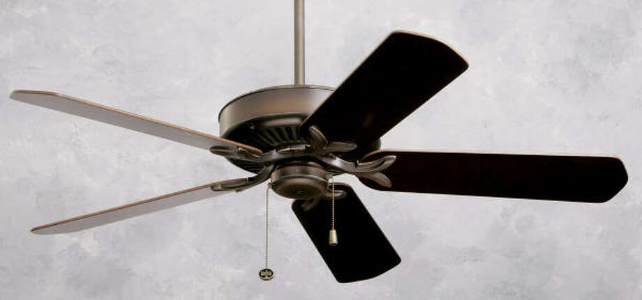 The Premium, from Emerson Ceiling Fans, starts at about $300. Photo: Emerson Fans