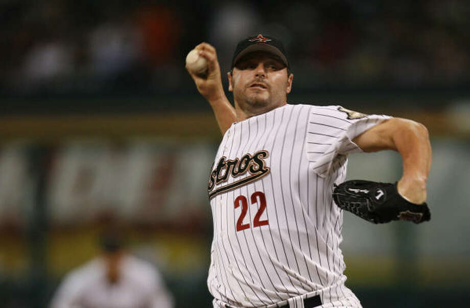 Roger Clemens brings 6-5 record into today's series finale against the Reds. Photo: KAREN WARREN, Chronicle