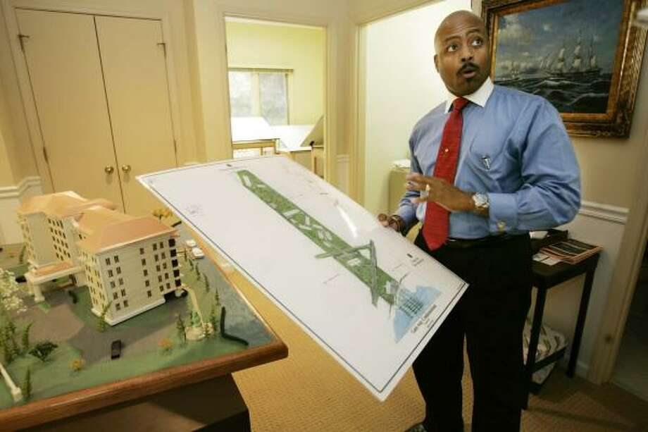 "Adolph ""A.D."" Brown, a developer and president of the Jones Family LLC, has plans for his great-great-grandfather's 21 acres of land on Hilton Head Island, S.C. Photo: MARY ANN CHASTAIN, AP"