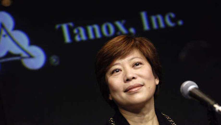 Dr. Nancy Chang, chairwoman of Houston biotechnology company Tanox, saw the venture she co-founded 20 years ago sell for $919 million. Photo: JASON DECROW, AP