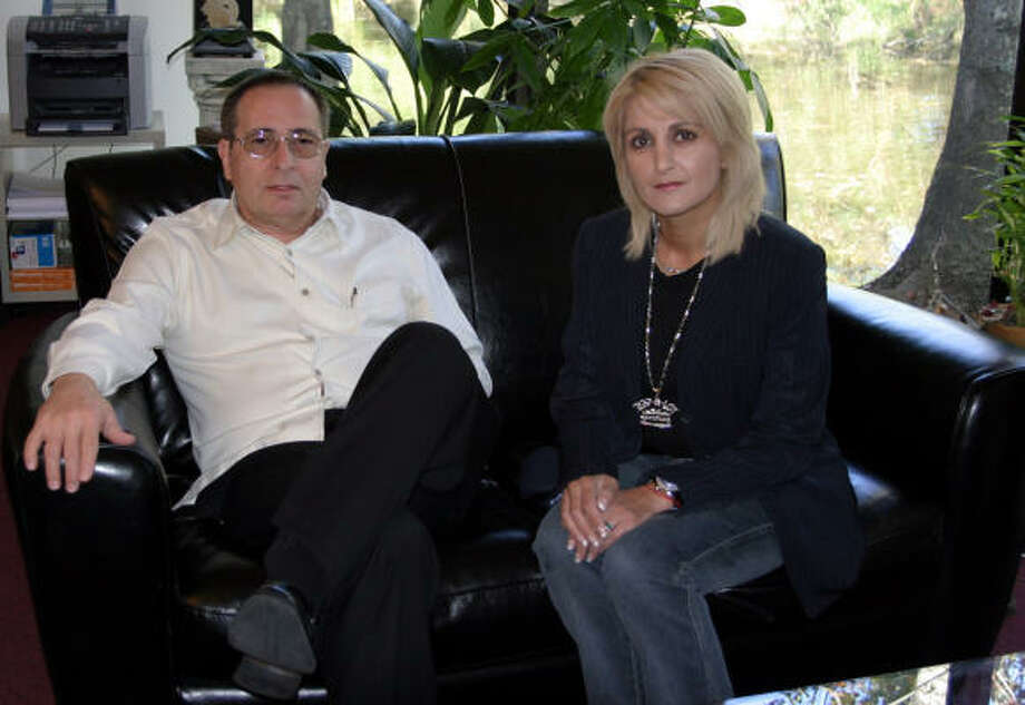 Harold Blakeslee, Managing Director and Shila Mitra, Executive Manager of BCD Music Group, Inc. have their music business based in Kingwood. Photo: Patty Brinker, For The Chronicle