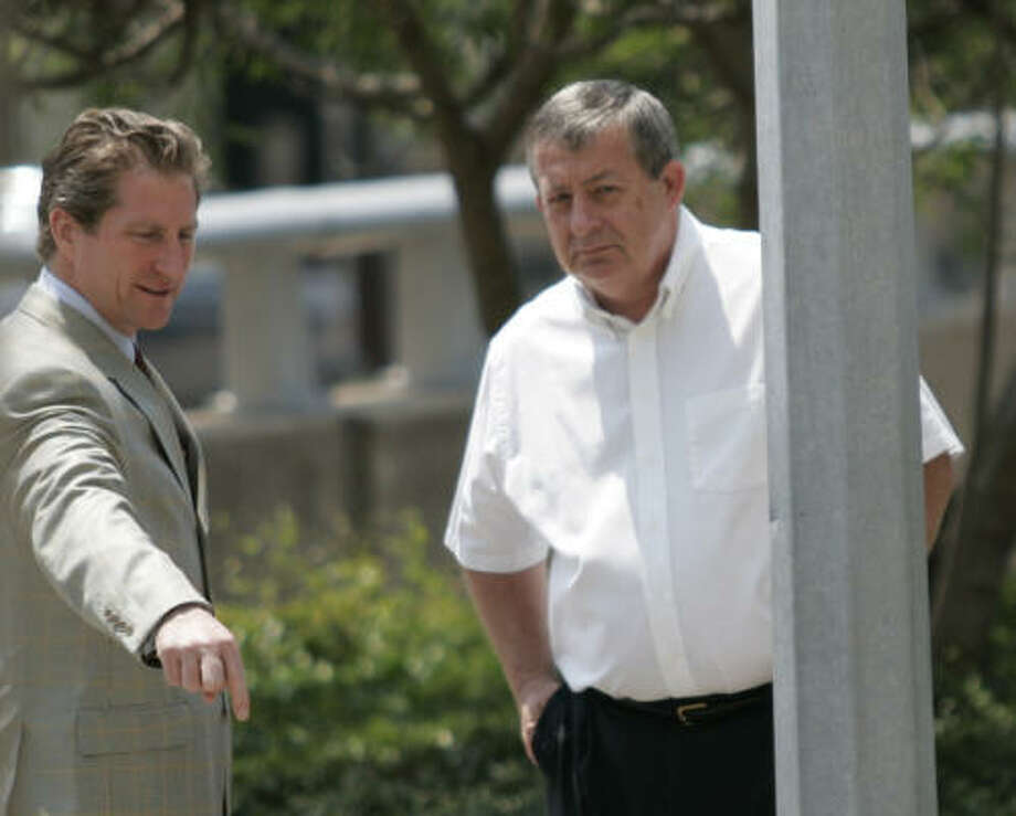 Charles Crawley, the former president of Houston's largest Teamsters local, is on trial in federal court this week. Photo: Nathan Lindstrom, Chronicle File