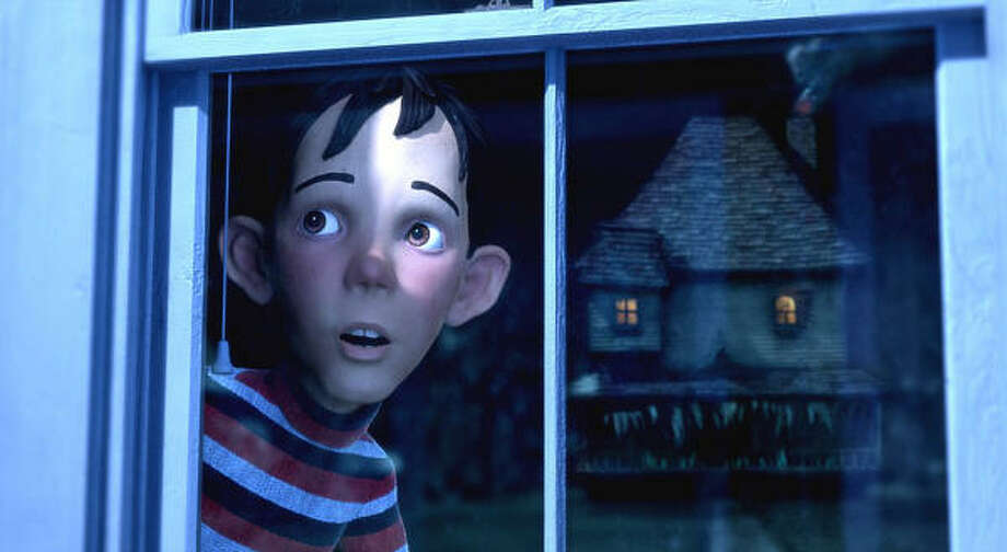 DJ (Mitchel Musso) suspects the house across the street is alive, in Monster House. Photo: Columbia Pictures