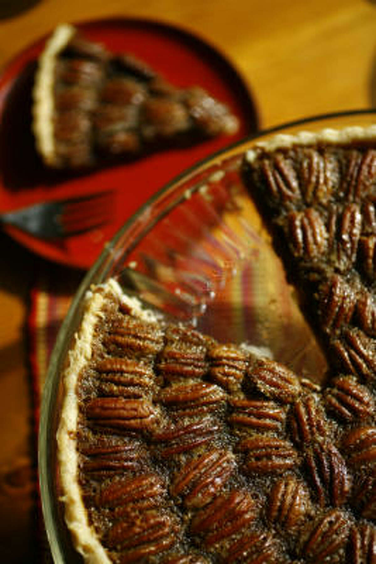 Piloncillo-Coffee-Pecan Tart is less cloying and more interesting than pecan pie.