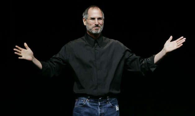 The stock option scandal has made some wonder if even the position of Apple's Steve Jobs is in peril. Photo: PAUL SAKUMA, AP