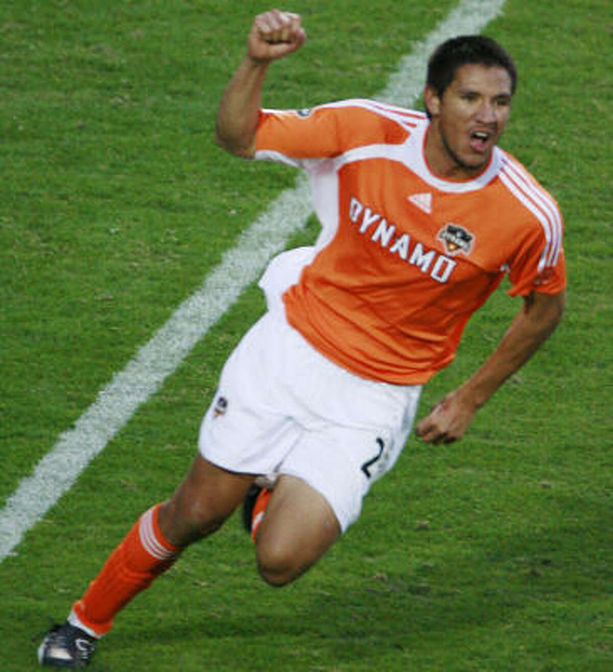 It took the Dynamo a long time to get on the board. Brian Ching made it happen in the second overtime.