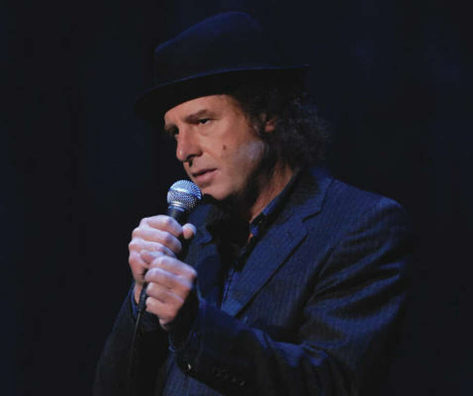 Steven Wright: When the Leaves Blow Away airs 8 tonight on Comedy Central. Photo: COMEDY Central