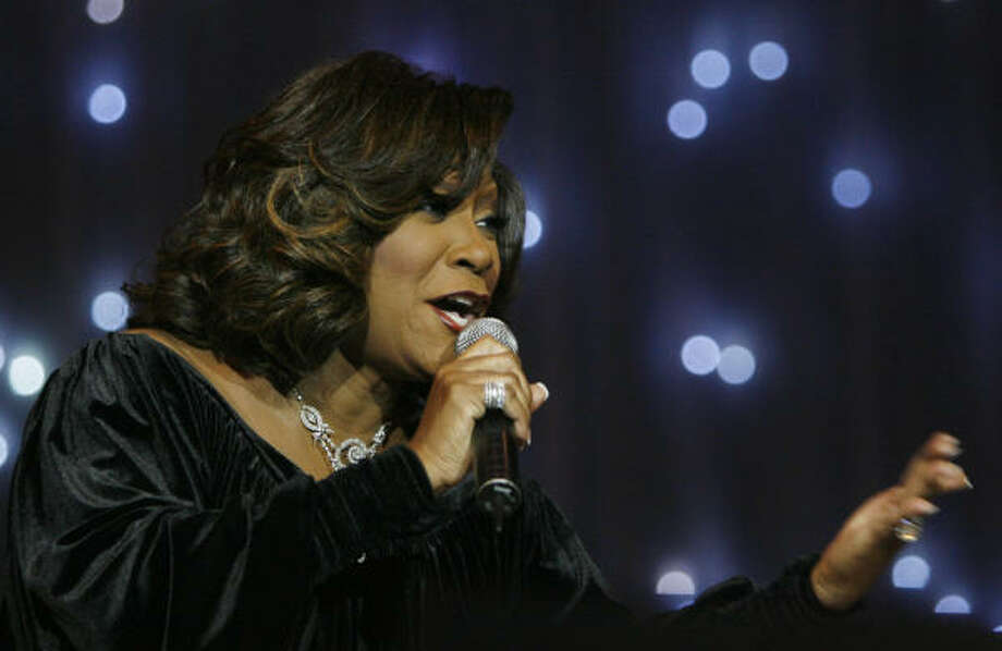 During a church-tour stop at St. Agnes Baptist Church, Patti LaBelle performs songs from her gospel album. Photo: Mayra Beltran, Chronicle