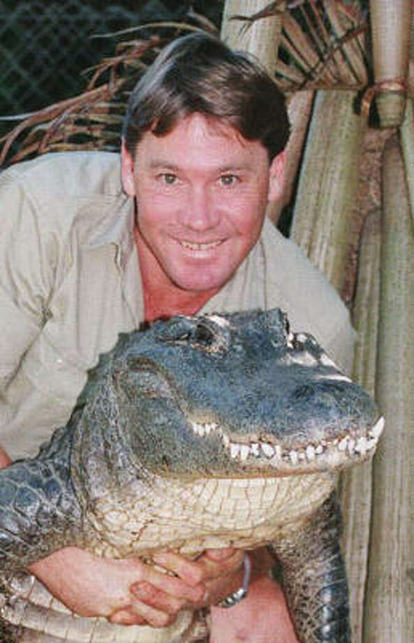 On page 128 of the TelevisionWithoutPity.com's book, Television Without Pity: 752 Things We Love to Hate (And Hate to Love) About TV, the writers have some harsh words for Steve Irwin. Photo: RUSSELL MCPHEDRAN, AP
