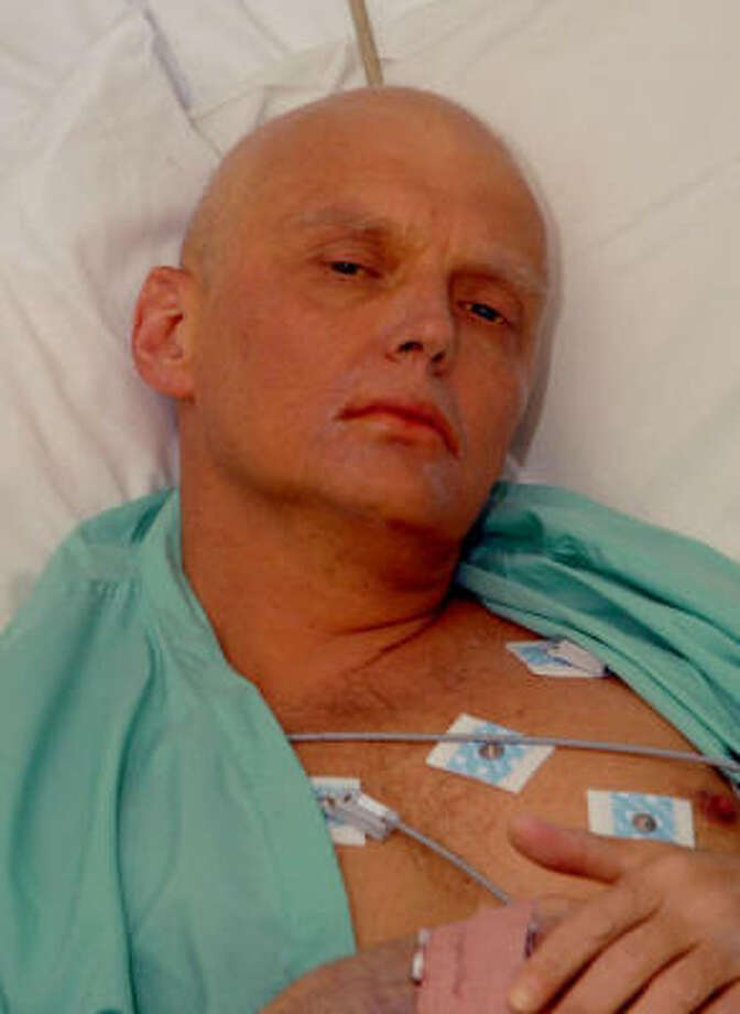 Alexander Litvinenko, 43, a critic of the Russian government, fought for his life in recent days at a London hospital after an apparent poisoning. Photo: AP