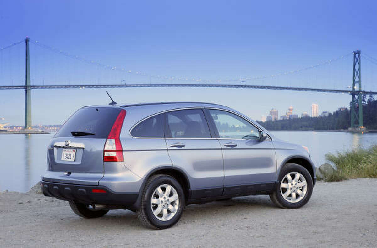 The 2007 Honda CR-V was ranked as one of two safest small SUVs.