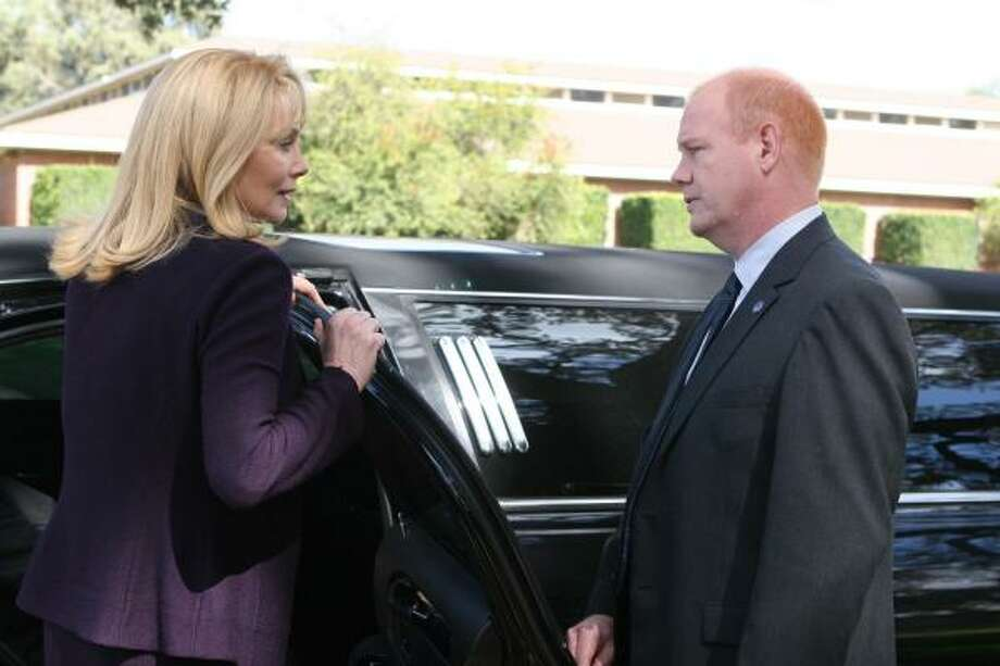 Special agent Aaron Pierce (Glenn Morshower) is committed to keeping first lady Martha Logan (Jean Smart) safe in Season 5 of 24. Photo: Michael Desmond, Fox