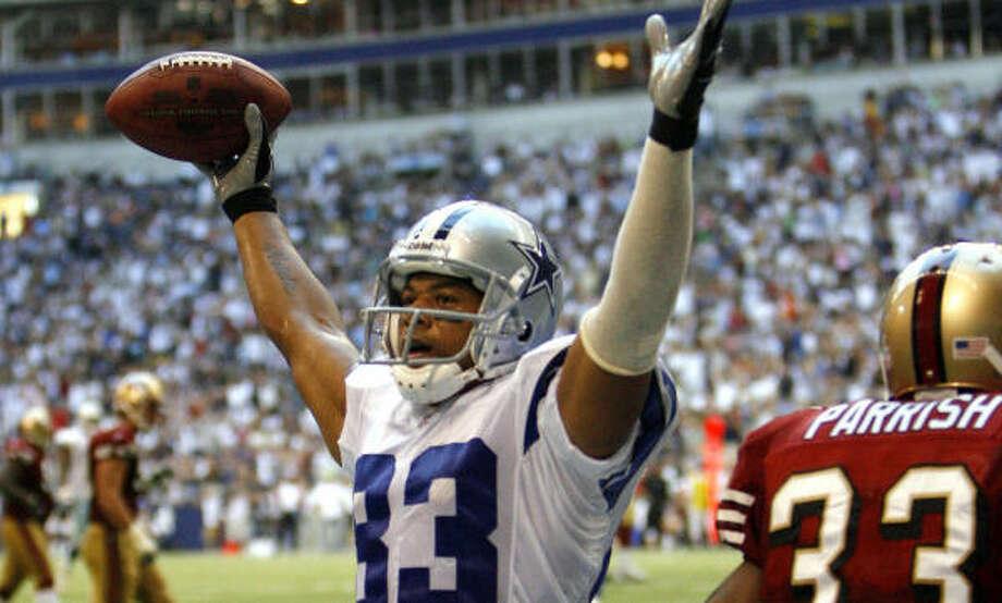 Cowboys receiver Terry Glenn Photo: MATT SLOCUM, AP