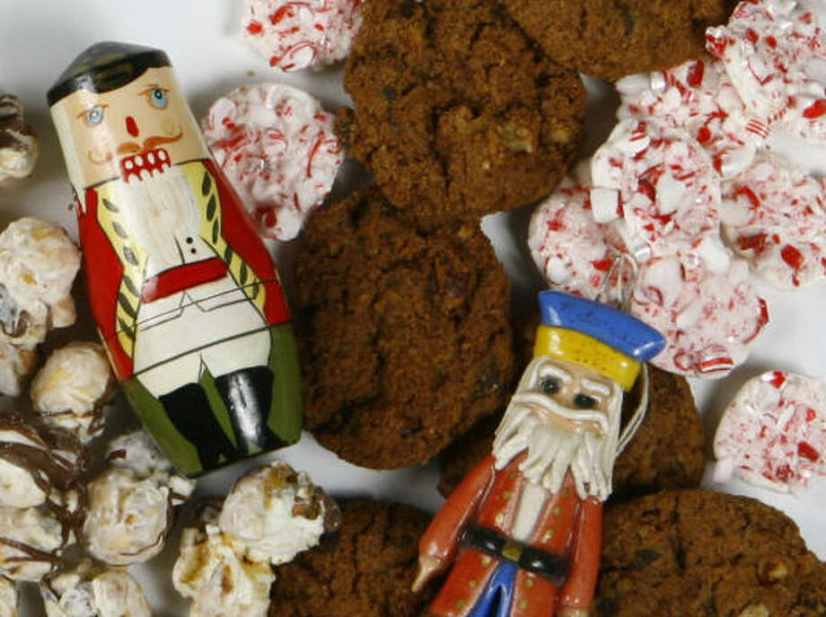 The Nutcracker Market, which runs Nov. 9 through Nov. 12, features many specialty foods made in Texas. Photo: Nick De La Torre, CHRONICLE
