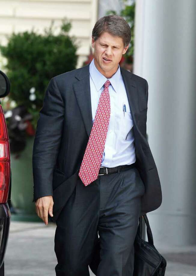 Kansas City Chiefs owner Clark Hunt arrives for an NFL owners labor committee meeting in College Park, Ga., on Wednesday, July 20, 2011. (AP Photo/John Bazemore) Photo: John Bazemore, STF / AP