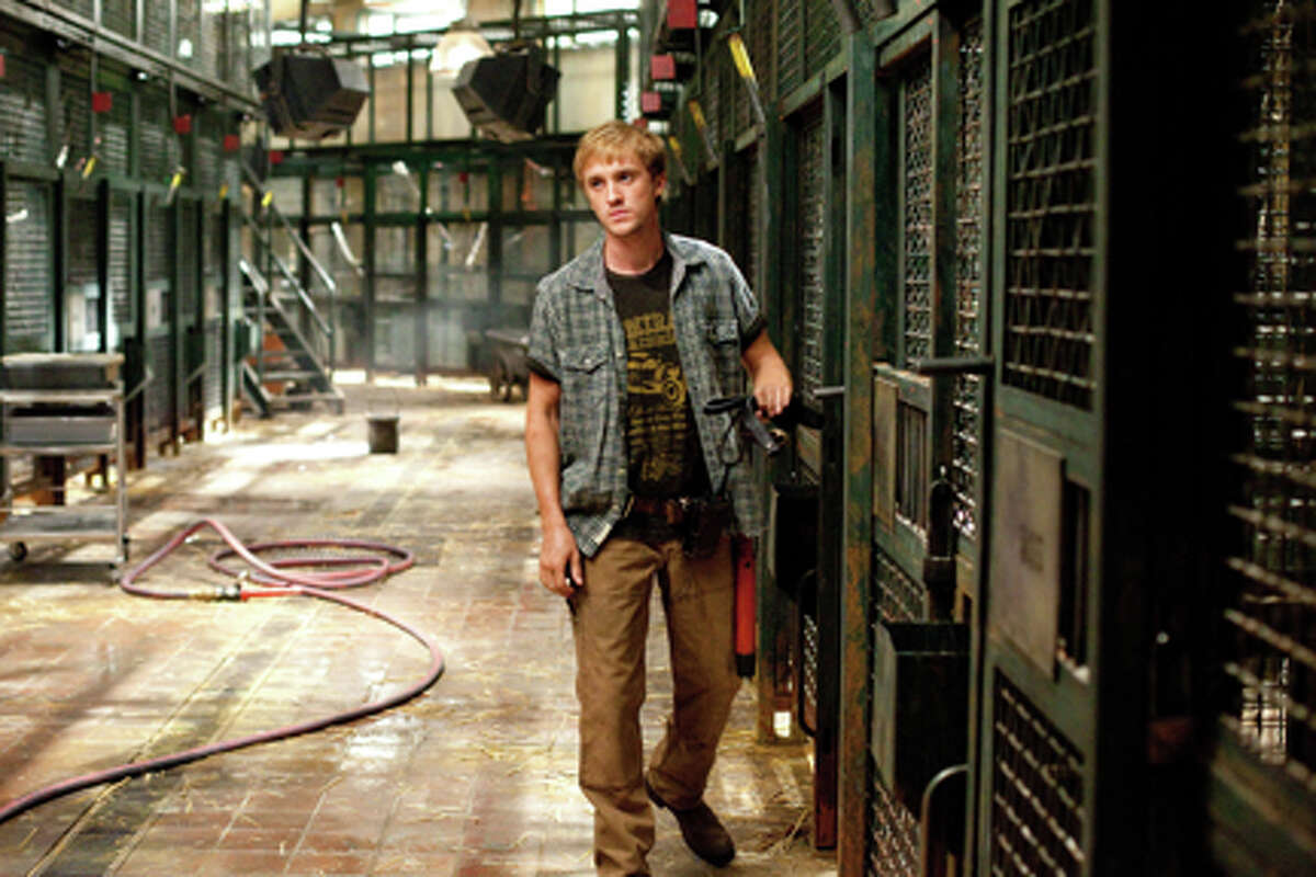 """Tom Felton as Dodge in """"Rise of the Planet of the Apes."""""""