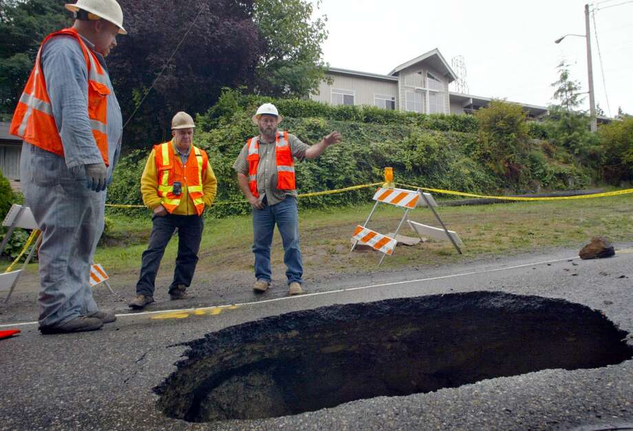 From left, Garrick Hopkins, Dick Gabrielson and Bob Lucas of Seattle 