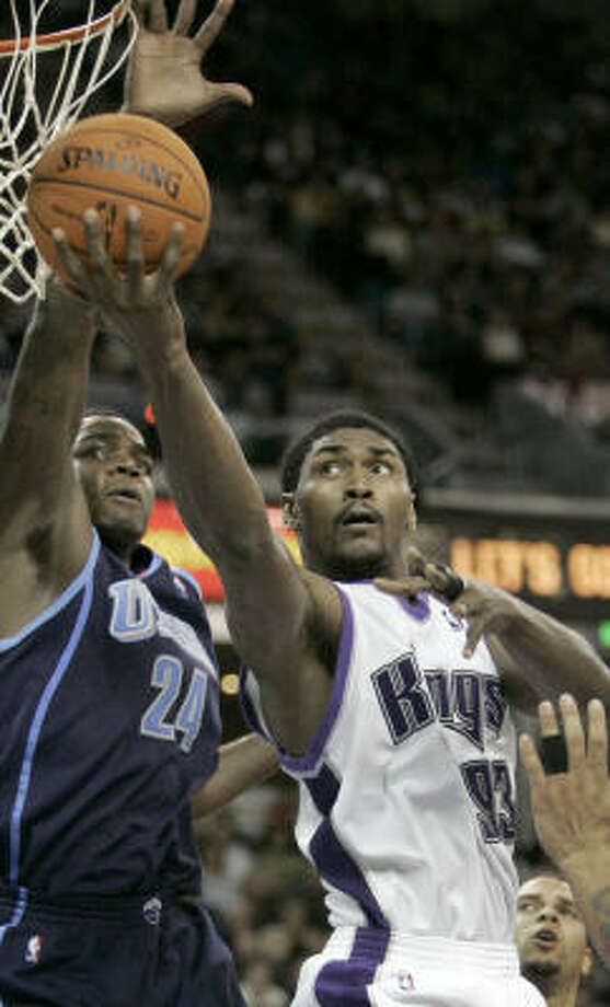 Kings forward Ron Artest, right, has been mentioned as a key player in a potential trade with the Clippers. Photo: RICH PEDRONCELLI, AP