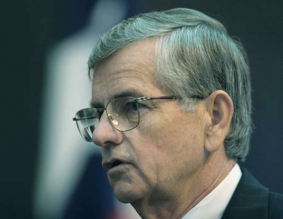 Tom Craddick, the first Republican to serve as Texas House speaker in modern times, has built a reputation as an authoritative presiding officer who has forced or prompted some of his fellow Republicans to vote against the best interests of their districts. Photo: HARRY CABLUCK, AP File