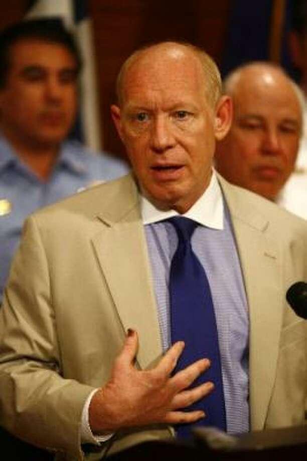 Mayor Bill White Photo: Chronicle File