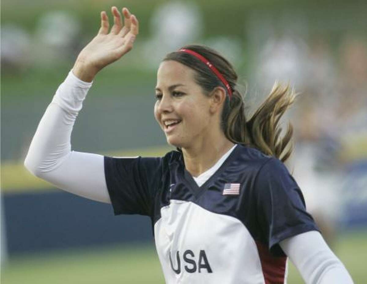 Cat Osterman's three-hit shutout helped the United States to its second consecutive world title.